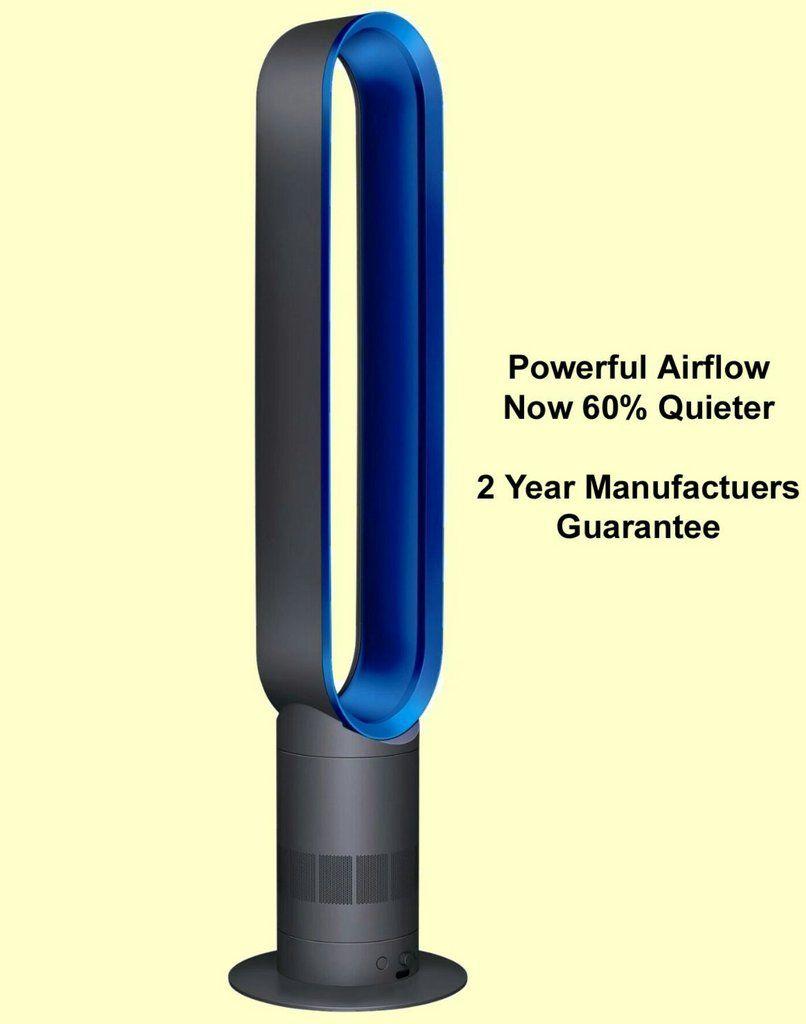Dyson Am07 Tower Fan White Black Blue Tower Fan Dyson