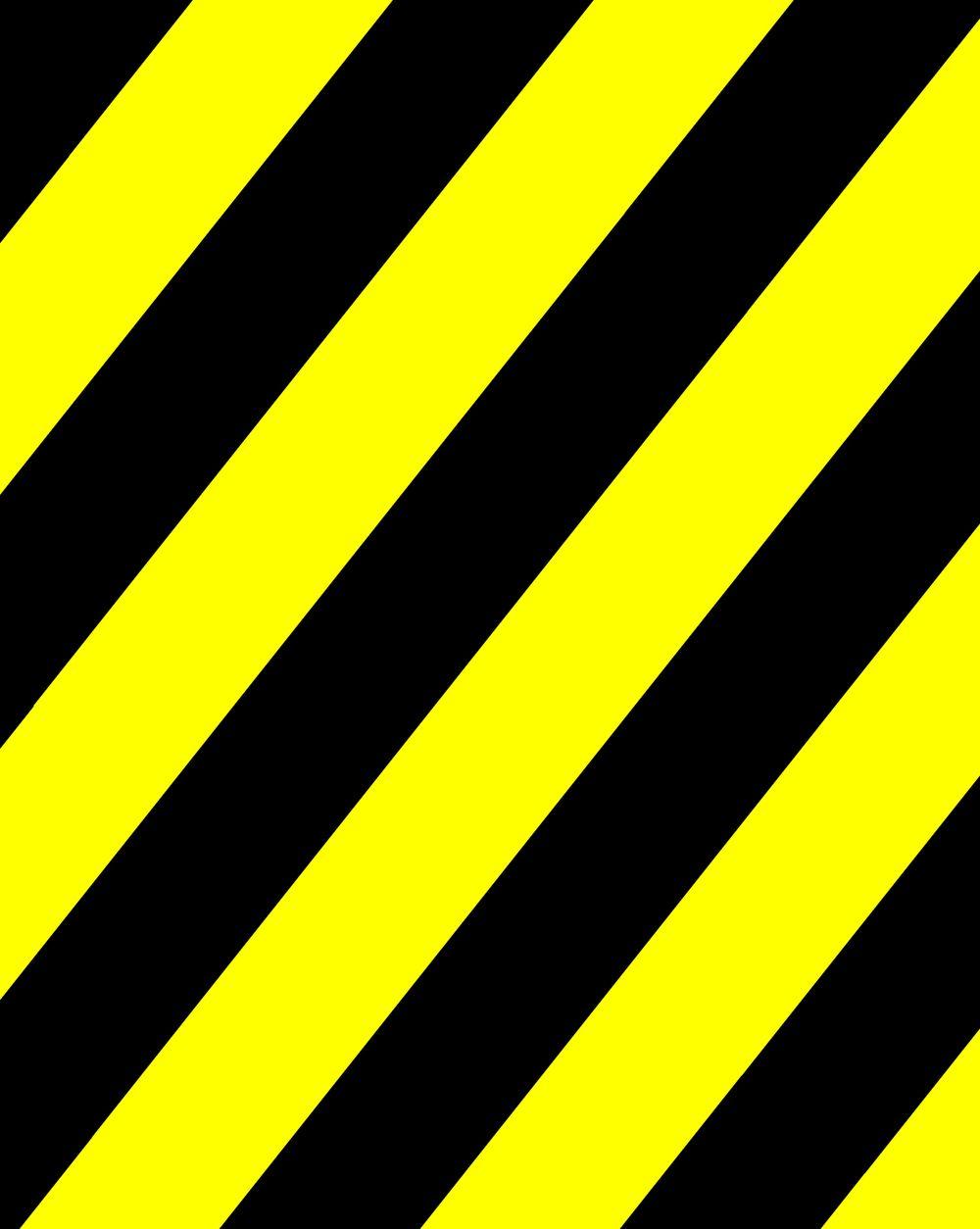 Черная картинка с желтой каймой
