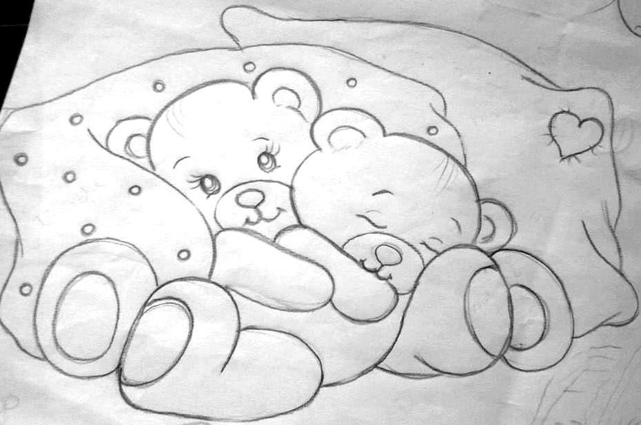 Desenhos Riscos Para Pintura Pinturas Em Tecido Fraldas