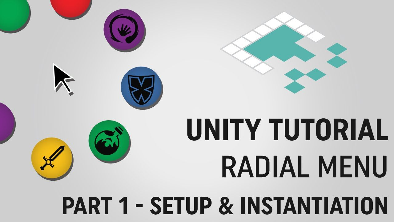 Unity Tutorial - Learn to make a radial menu | Learn: Unity 3D