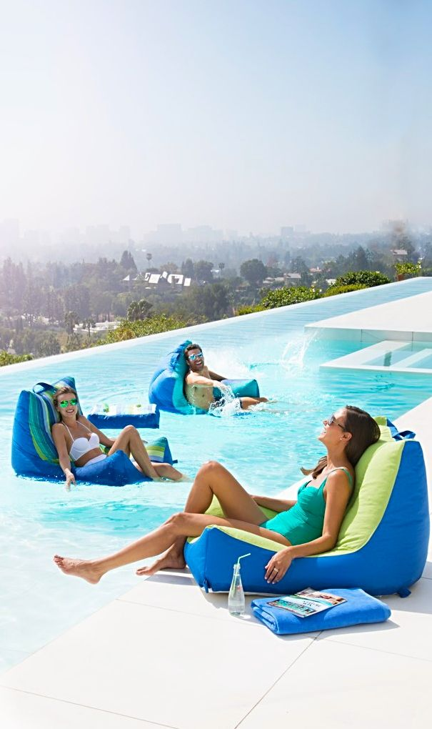Oasis Pool Lounger | Splash | Swimming pool house, Outdoor chairs ...