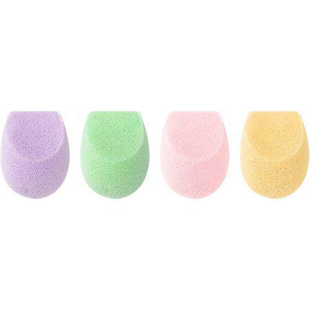 EcoTools Color Perfecting Mini Makeup Sponges, 4 count