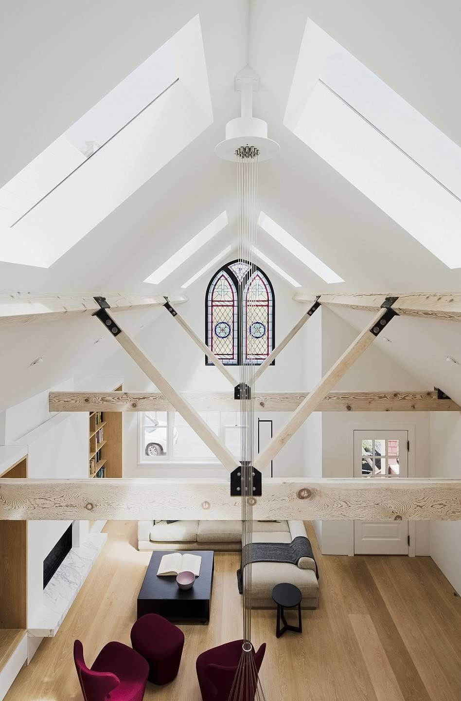 Sf Residence By Devlin Mcnally Construction Attic Rooms Attic Remodel Attic Apartment