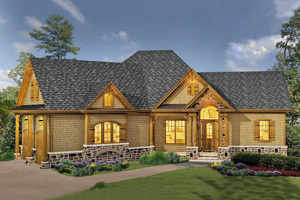 Classic Hip Roofed Cottage With Options In 2020