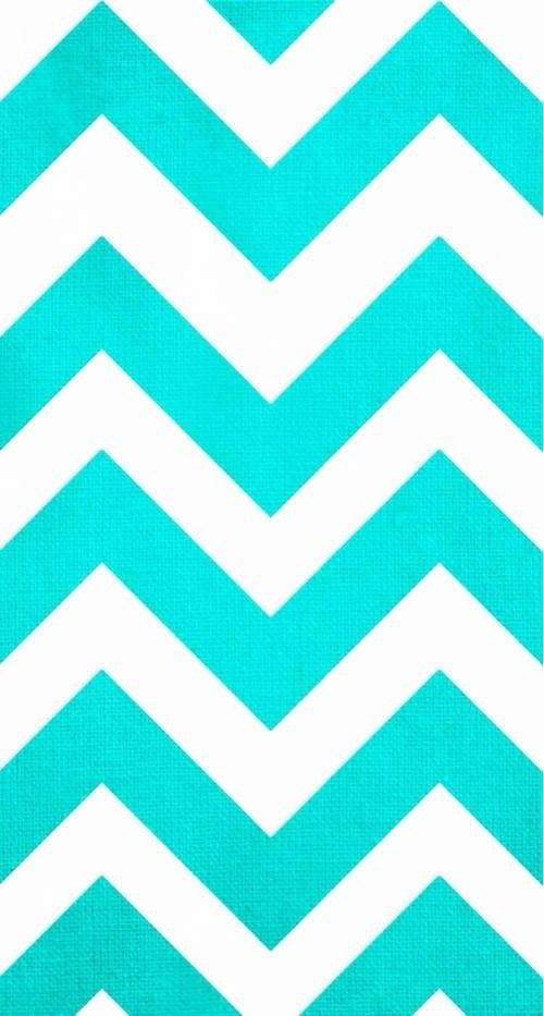 Blue And White Zig Zag Stripe Wallpaper