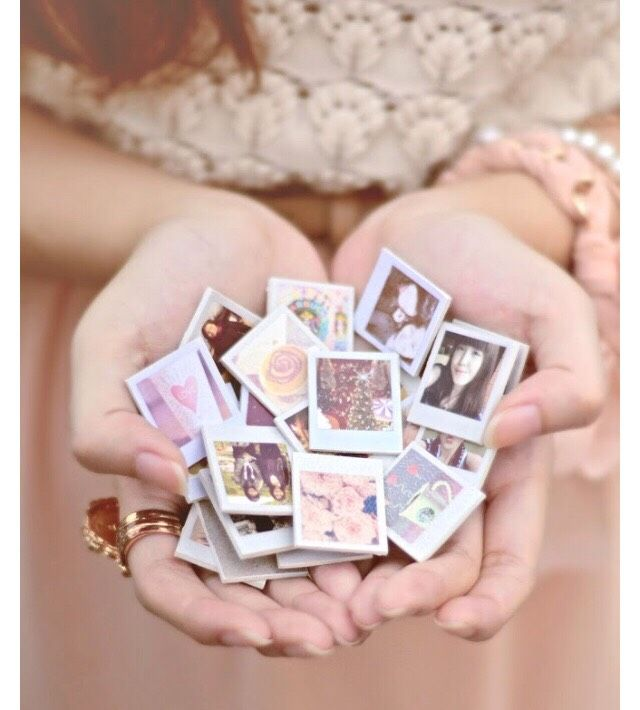"Your day just got better with this tip: ""Diy Mini Polaroid Magnets ❤️"""