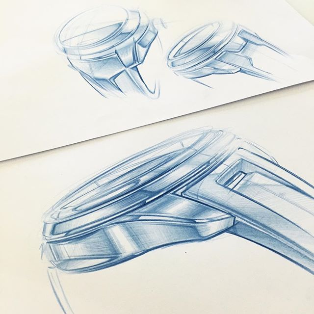 A few watch sketches from yesterday ⌚️#watchporn #sketch