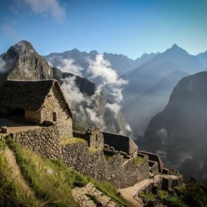 Our amazing porters on the Inca Trail
