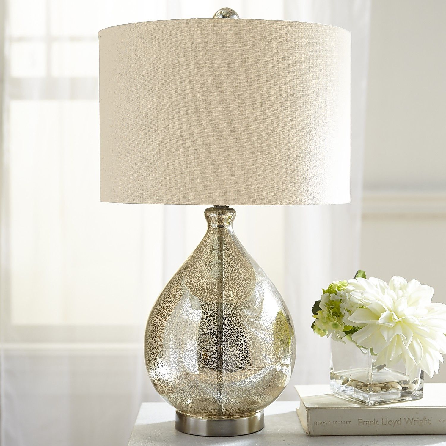 Teardrop Luxe Table Lamp Champagne