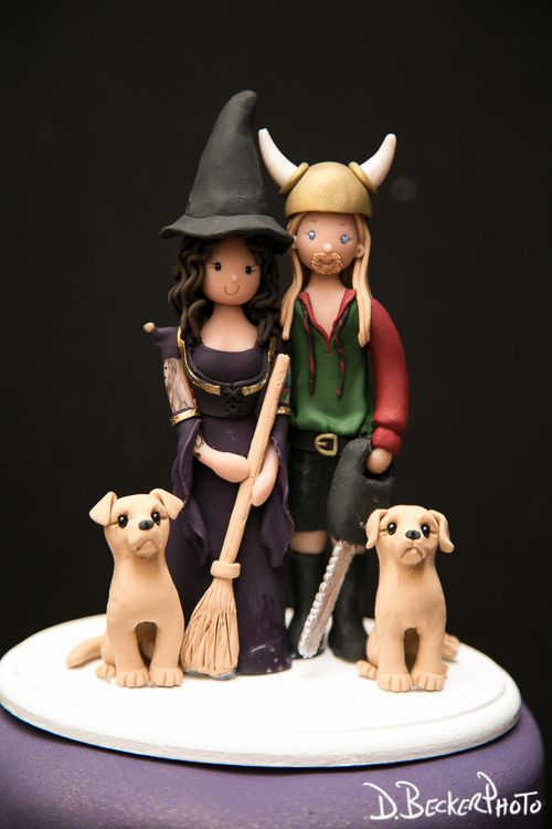 Cutest Cake Toppers For A Pagan Handfasting