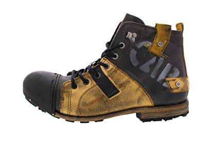 07d1510a7a YELLOW CAB - Bottes INDUSTRIAL 15012 - yellow black