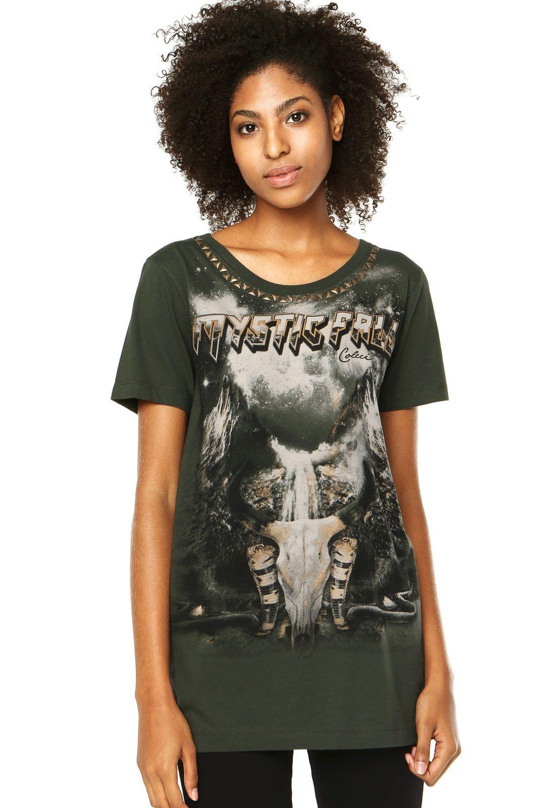 7e0075348 Camiseta Colcci Cinza - Compre Agora | Dafiti Brasil