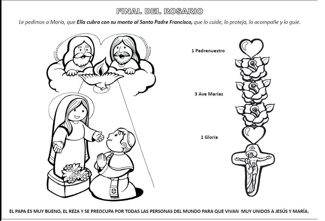 Explicación Sencilla Para Que Los Niños Aprendan A Rezar El