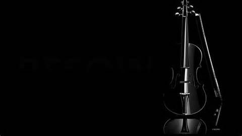 1920x1080 Black Violin Desktop Pc And Mac Wallpaper Black Violin Black Background Images Black Wallpaper