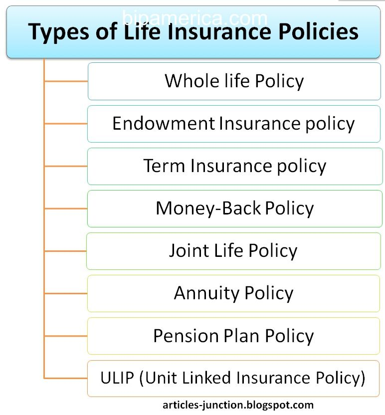 Types Of Life Insurance Policies Life Insurance Definition