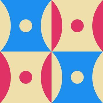 LIGHT AND DARK with Eva Zeisel - Antique Geometric Quilt Designs, ca1963