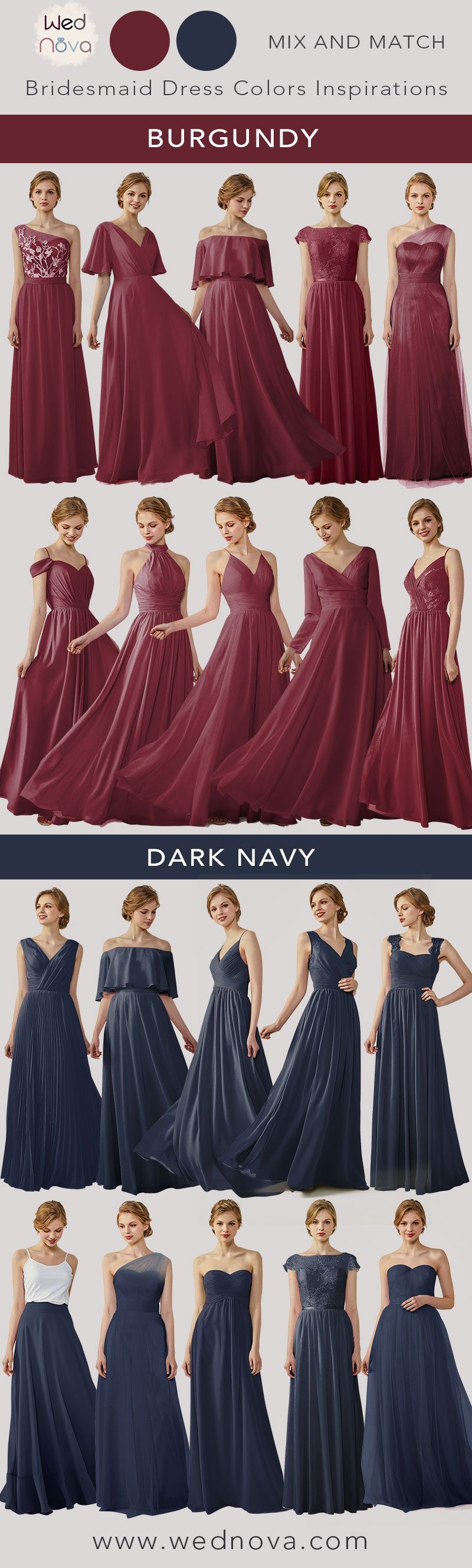 best bridesmaid dresses burgundy perfect quality dress dark