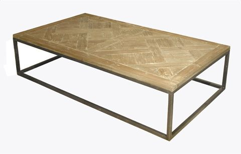 GJ Styles   Old Pine Coffee Table In Washed Finish   LD59 OL