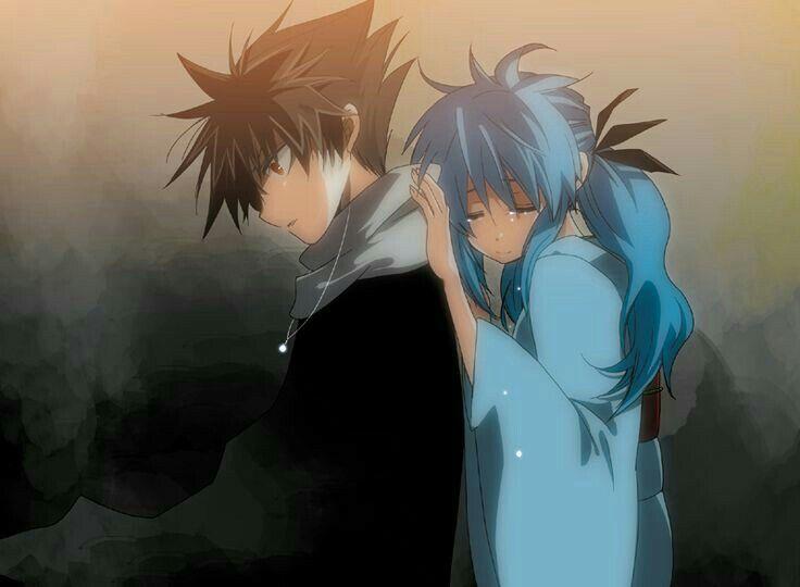 Hiei And Yukina From Yu Yu Hakusho Otaku Y Frases De