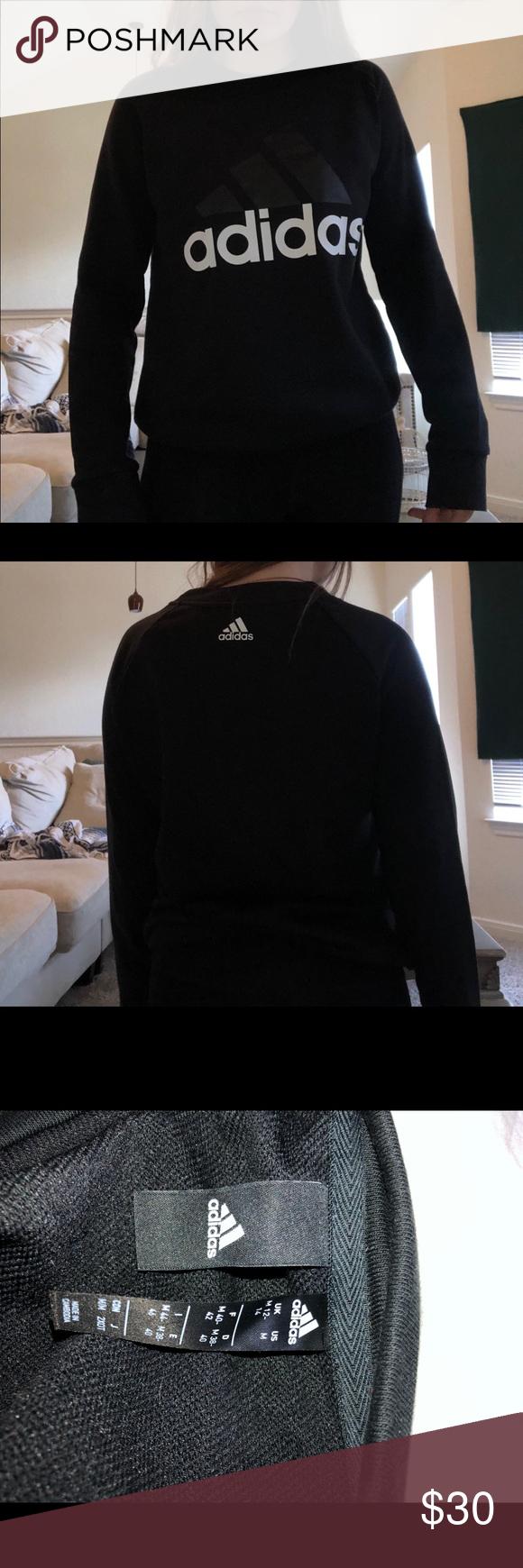 Adidas Women's Sweatshirt size medium Adidas women