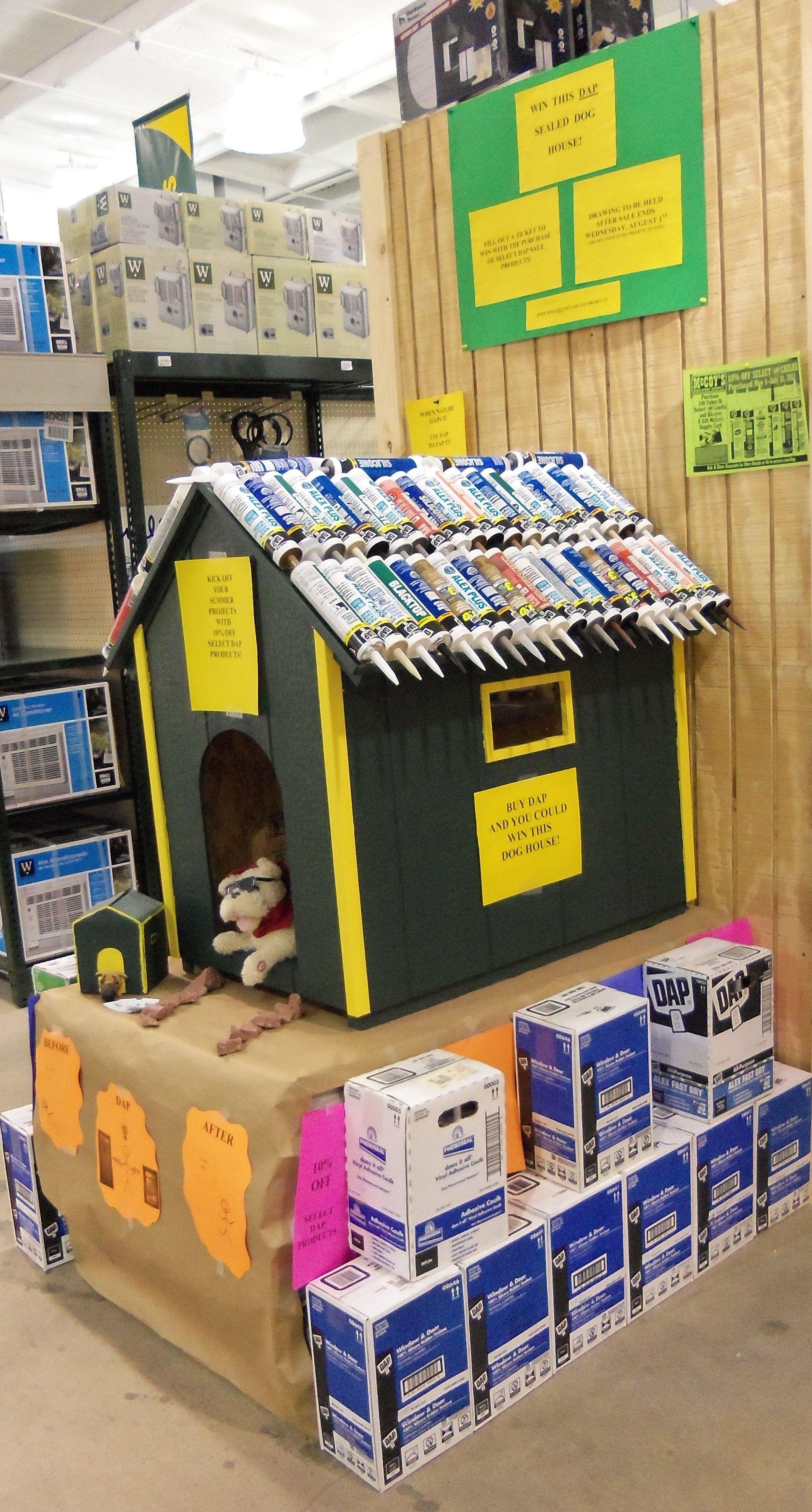 dap caulk display mccoys (With images) Arkansas, Dog