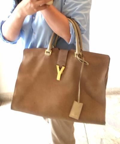 Sav On Bags >> Ysl Sav Ligne Y Suede Tote Bag Women S Bags Bags Suede Tote