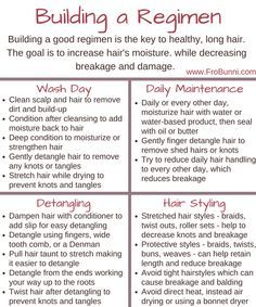 Building a Regimen