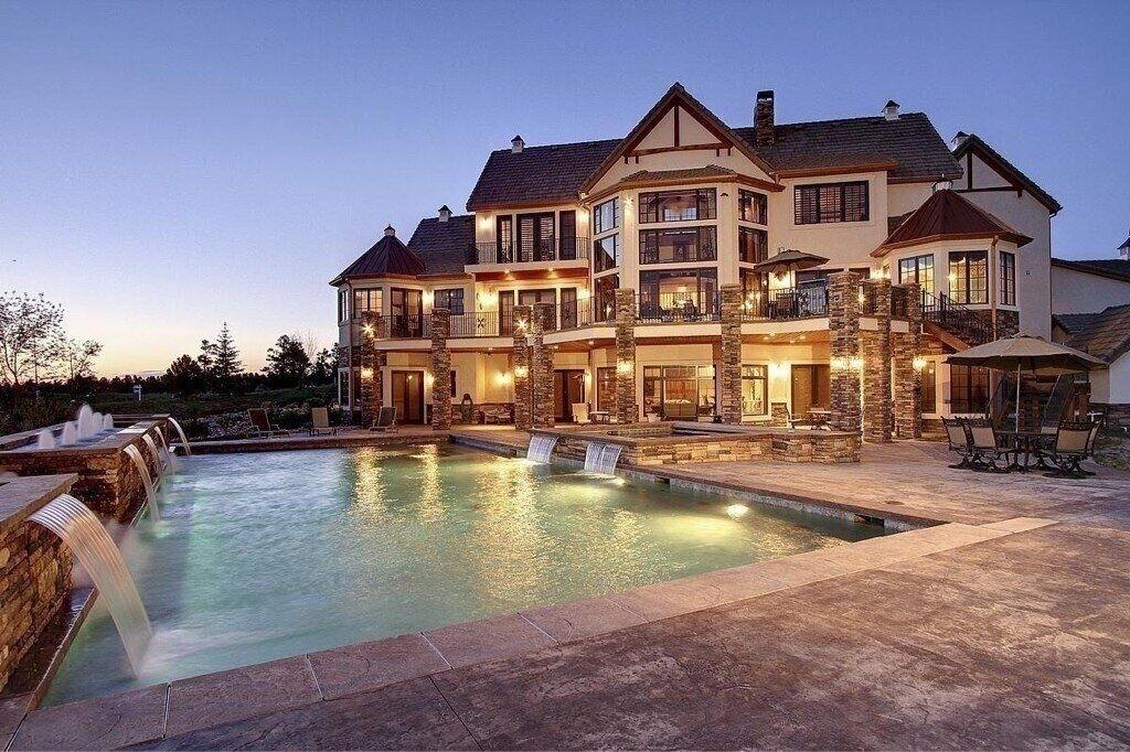 huge mansion
