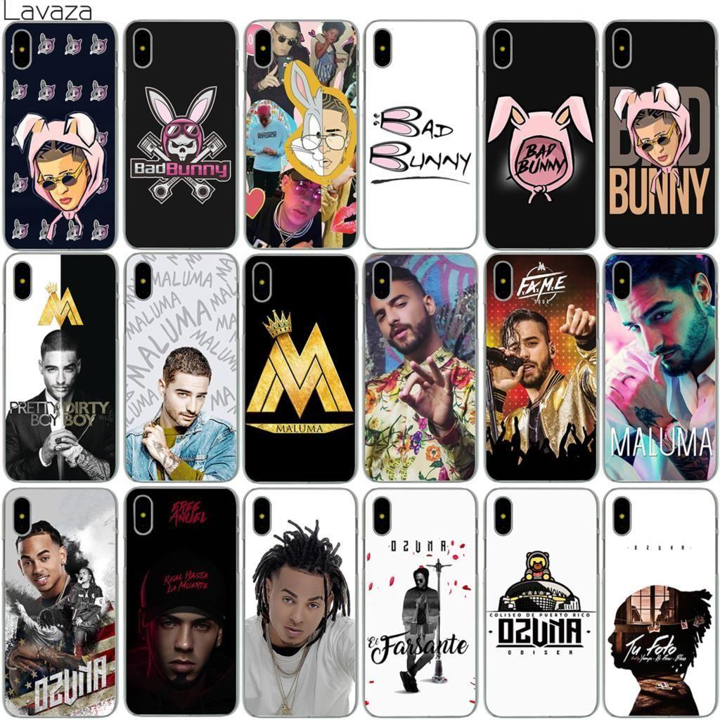 reputable site 6d02f d5e79 Lavaza Bad Bunny Maluma Ozuna POP Hip Hop Rapper Case for iPhone XS ...