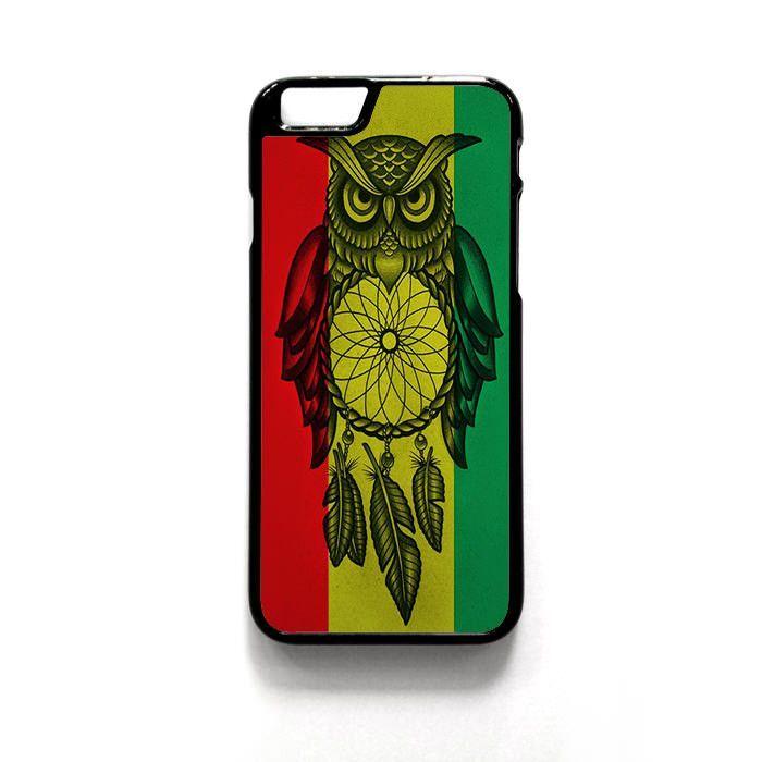 Owl Jamaican Flag For Iphone 4/4S Iphone 5/5S/5C Iphone 6/6S/6S Plus/6 Plus Phone case ZG