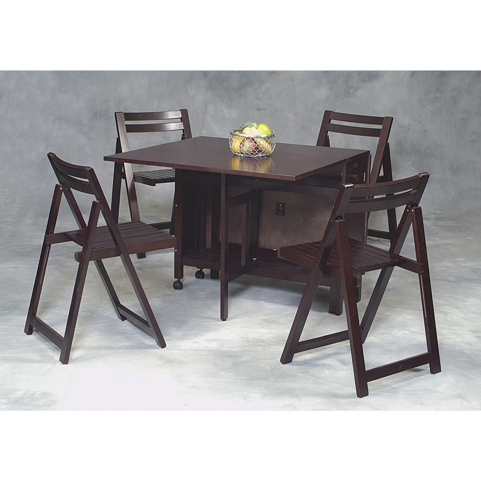 Linon Space Saver  Piece Kitchen Table Set  ORGanized CHaos