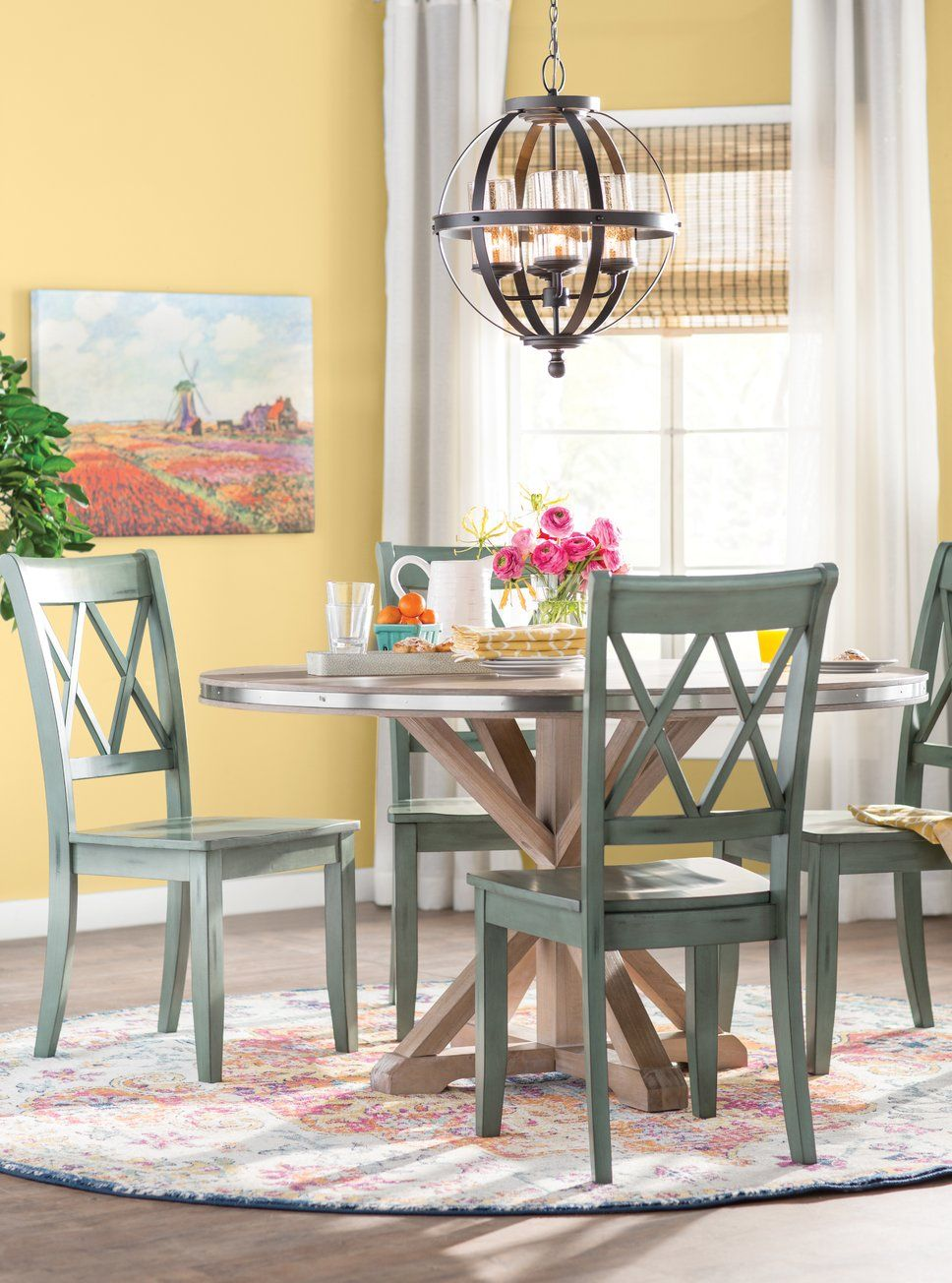 Traditional Dining Room Design Photo by Wayfair Catalog