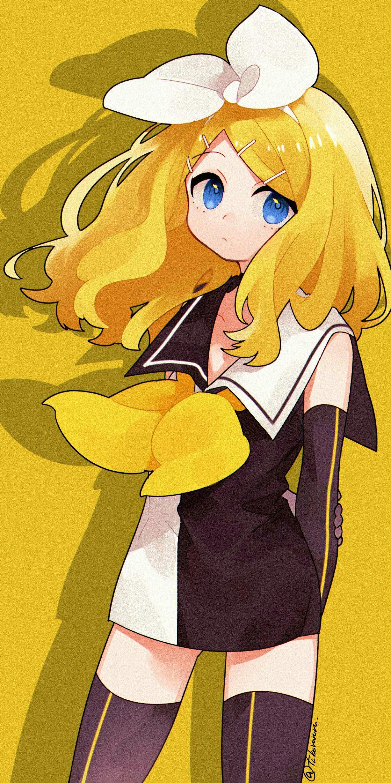 Meltdown Kagamine Rin Vocaloid, Kawaii anime, Vocaloid