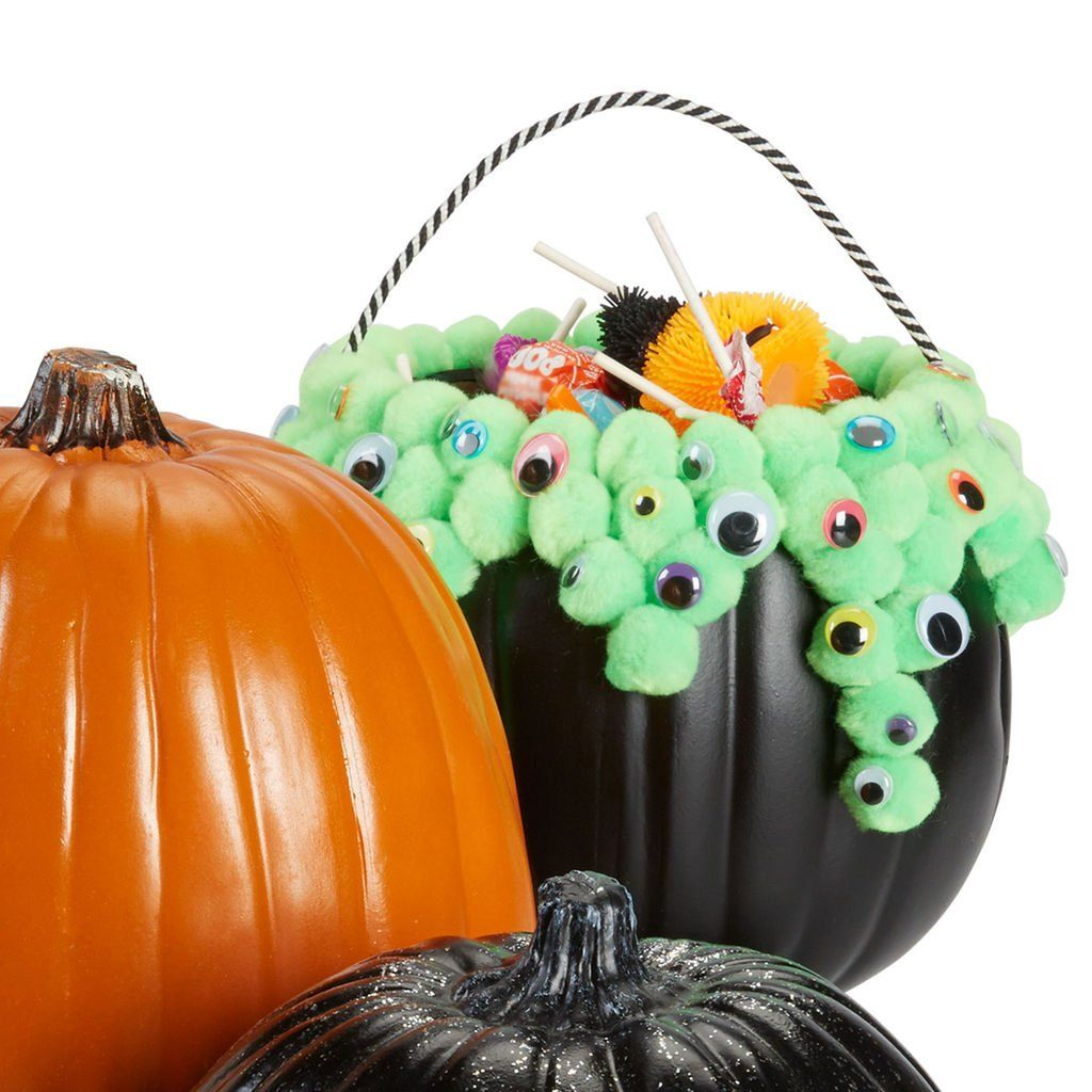 Make Halloween decorating fun with this easy DIY Bubbling Cauldron - How To Make Halloween Decorations