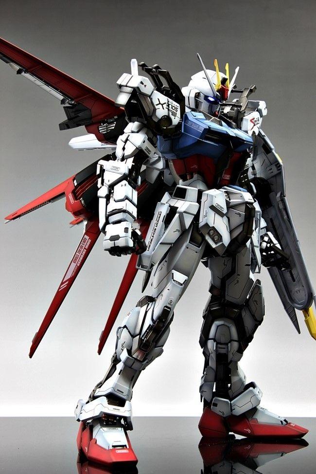 GUNDAM GUY: PG 1/60 GAT-X105 Aile Strike Gundam - Painted