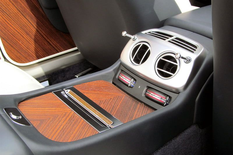 2016 rolls royce dawn back console