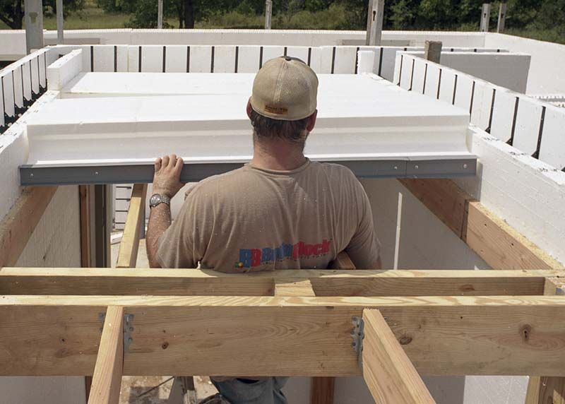 Installing Builddeck Roof On An F5 Tornado Rated Safe Room