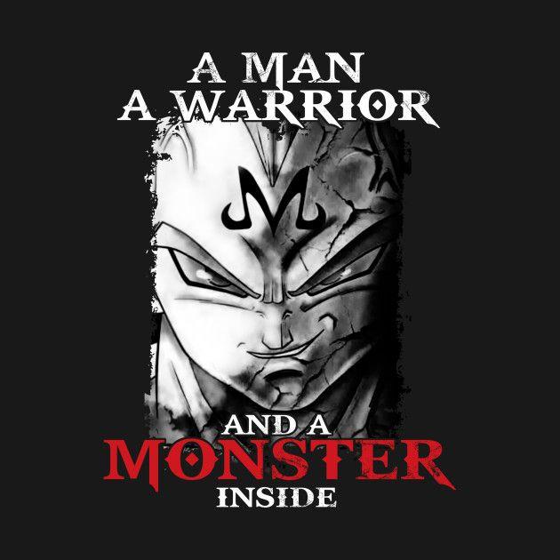 Check out this awesome 'Super+Saiyan+Vegeta+Monster+Inside+Shirt-+TP00281'…