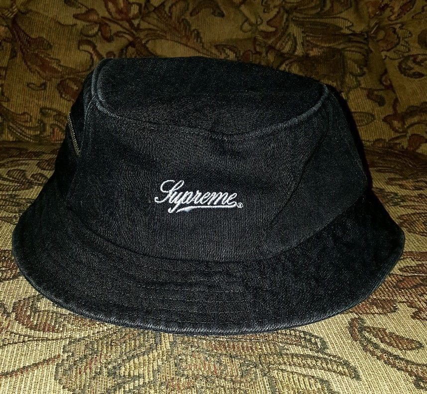 71974c652 Supreme Twill Zip Crusher Black M/L SS18 IN HAND #Supreme #Crusher ...