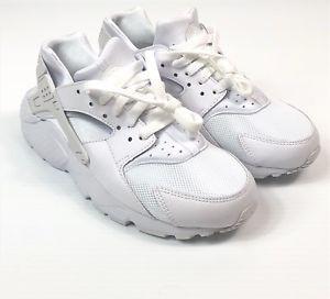 b05b60120db835 Nike Size 6.5Y Huarache Run (GS) Big Kid Shoes 654275-110 White Platinum  New 826215363996