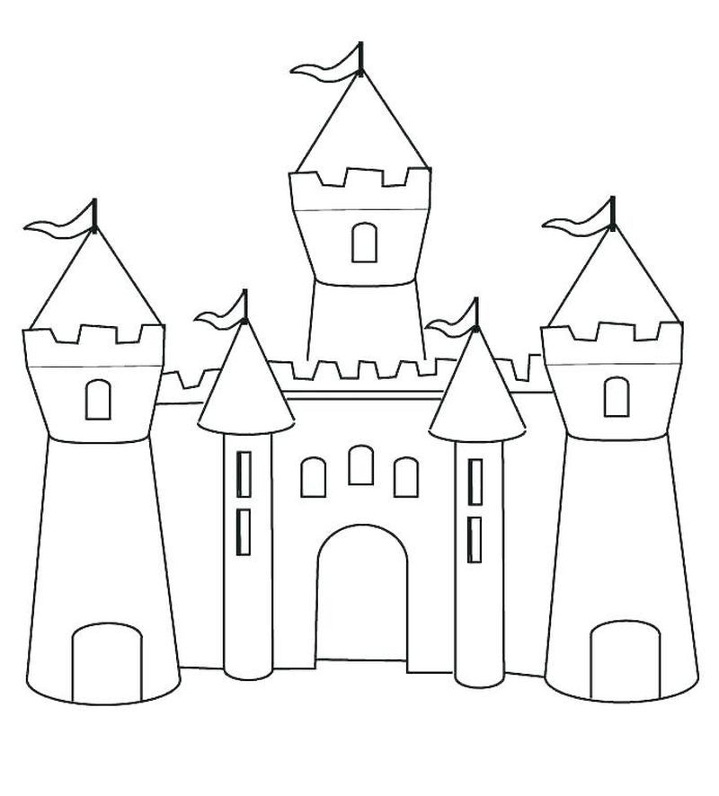 Very Cool Castle Coloring Pages Collection Free Coloring Sheets Castle Coloring Page Princess Coloring Pages Free Coloring Pages