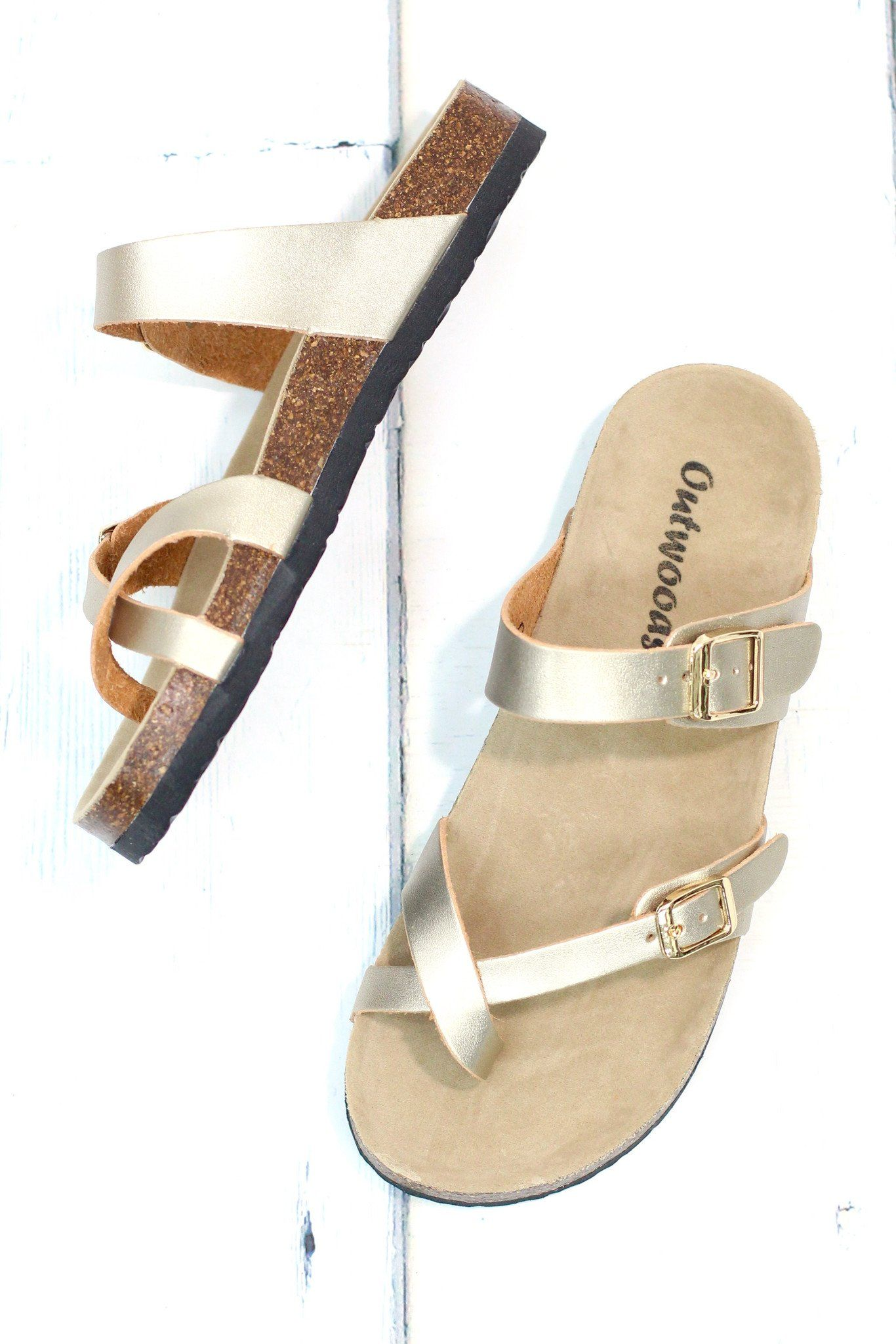 04c6df068d8f Similar looking to the Birkenstock sandals at a fraction of the cost! Toe  strap
