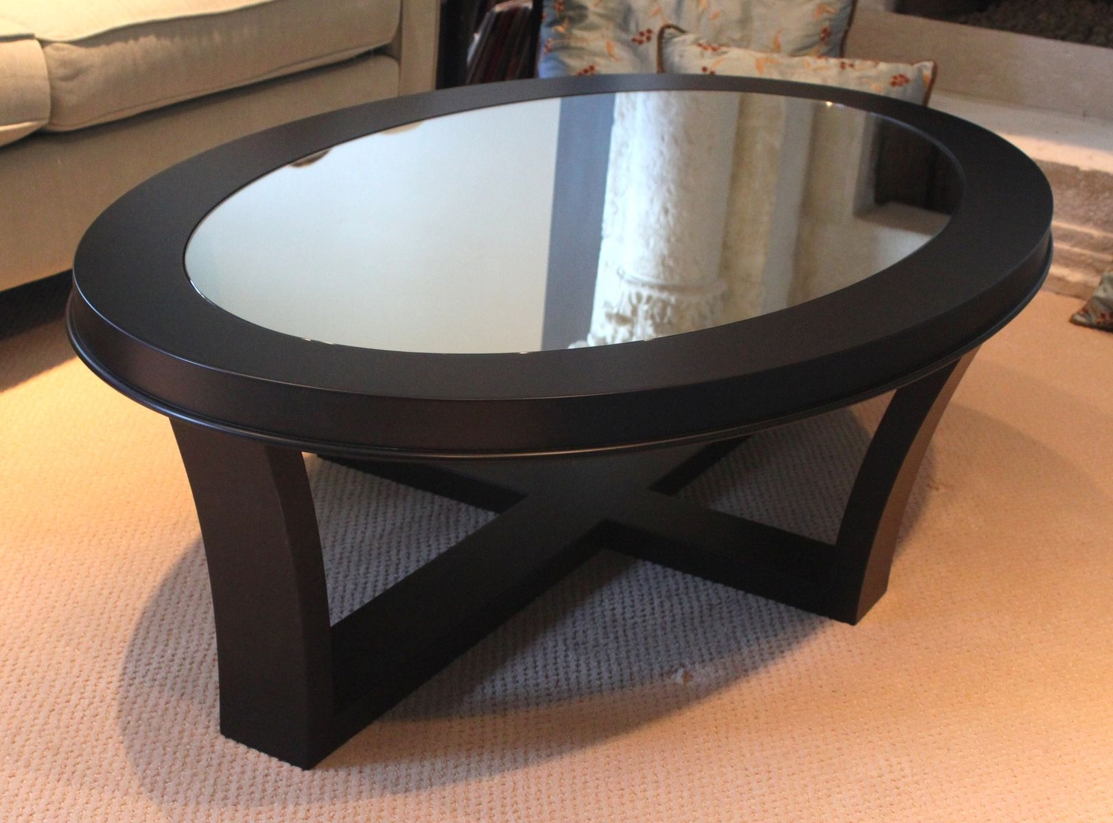 Oval Coffee Table Coffee Table Furniture Coffee Table Wood