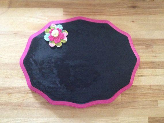 Custom Chalk board by themerrywiveslh on Etsy, $10.00
