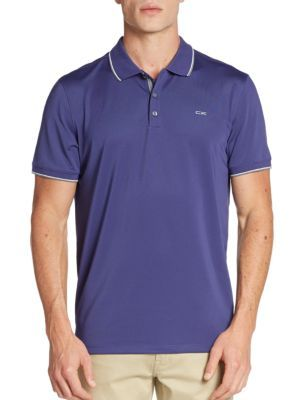 1d2e5c85f CALVIN KLEIN Contrast-Tipped Polo Shirt.  calvinklein  cloth  shirt ...