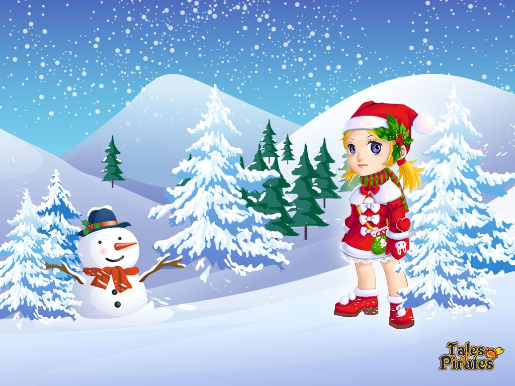 Fondo De Pantalla 3d De Navidad De Santa Vas De Luna Hd: Pin De Marina ♥♥♥ En Natal IX