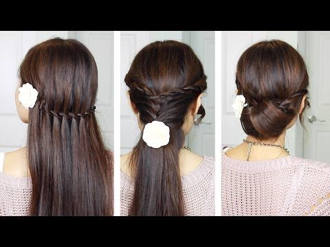 Quick And Simple Holiday Hair Styles Holidayhair Holiday Hairstyles Holiday Hairstyles Easy Hair Styles