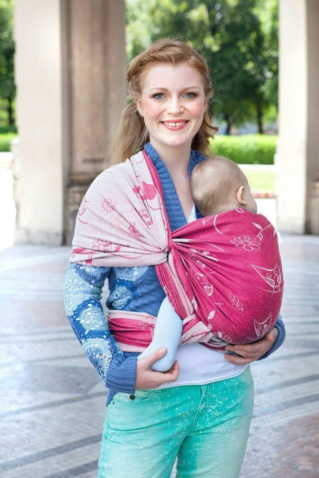 Kokadi Kakadu Ready Made wrap conversion ring sling