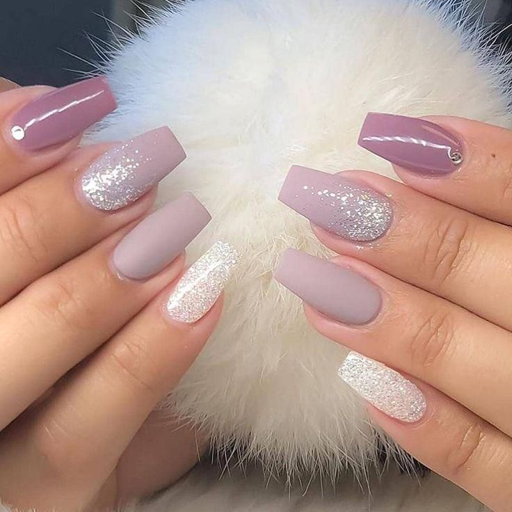 60 Simple Acrylic Coffin Nails Designs Ideas For 2019 Glitter Gel Nails Glitter Gel Nail Designs Coffin Nails Designs