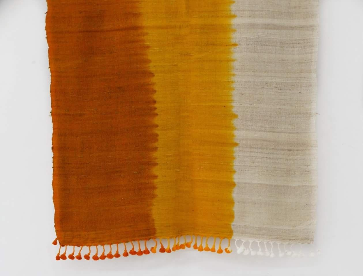 Just arrived Shaded stoles in wool x silk fabric. Price